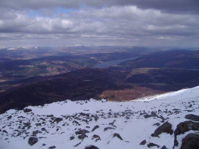 Views across Loch Tummel