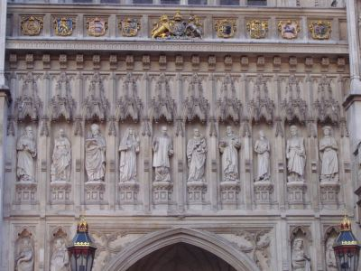 Westminster Abbey Carvings